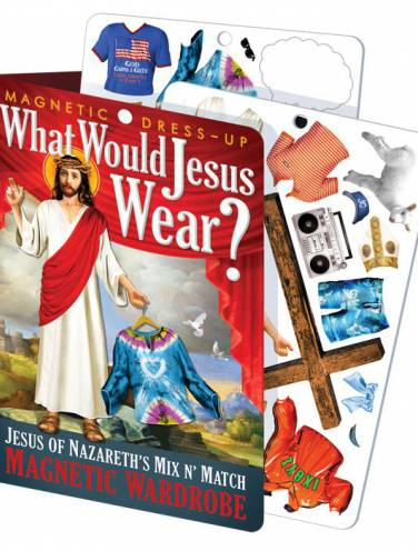 image of What Would Jesus Wear Magnetic Dress-Up Set