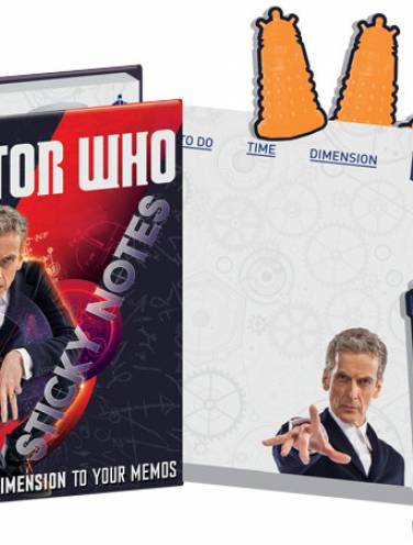 image of Doctor Who Sticky Notes