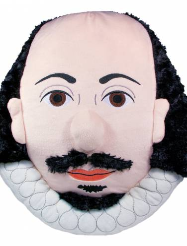 image of William Shakespeare Stuffed Portrait