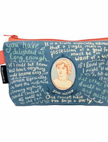 image of Jane Austen Zipper Bag