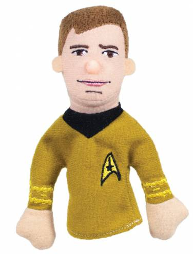 image of Captain Kirk Magnetic Personalities Finger Puppet