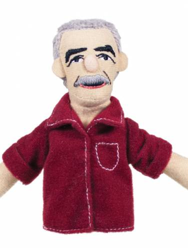 image of Gabriel Garcia Marquez  Magnetic Personalities Finger Puppet