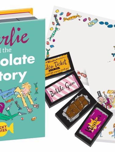 image of Charlie And The Chocolate Factory Sticky Notes