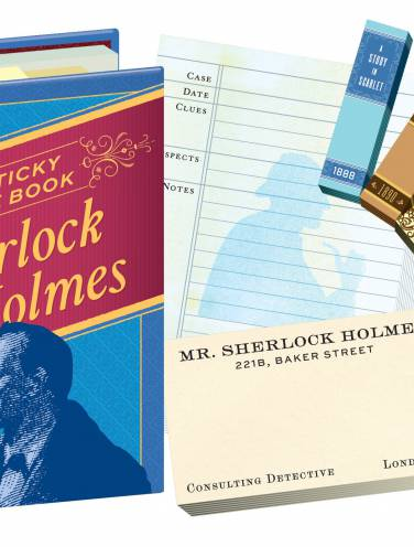 image of Sticky Note Book Of Sherlock Holmes