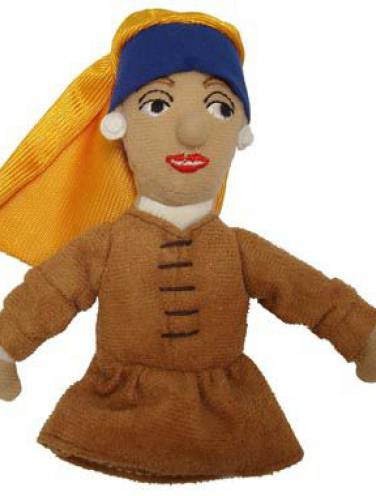 image of Vermeer Girl With Pearl Earing Magnetic Puppet