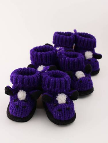 image of Purple Mustang Slippers