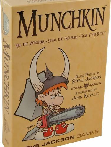 image of Munchkin Game Colour Ed