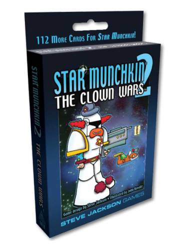 image of Star Munchkin 2 The Clown Wars
