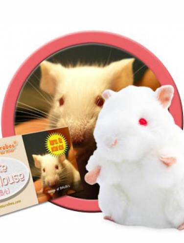 image of Giant Microbes White Lab Mouse  Pd-0805