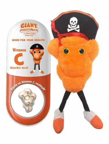image of Giant Microbes Vitamin C  Ht-2003