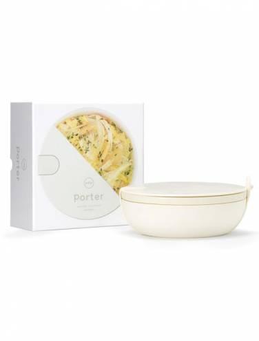 image of Cream Ceramic Lunch Bowl