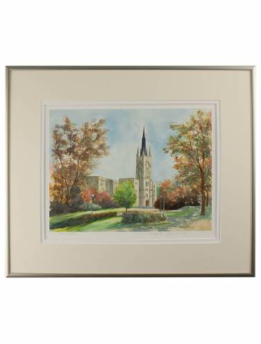 image of Middlesex College 'On Campus' Framed Print