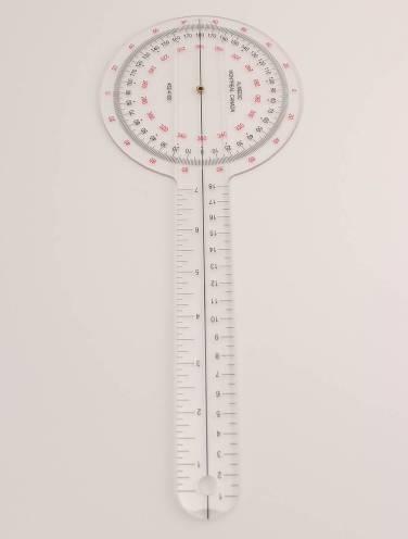 """image of Goniometer Plastic 12.5"""""""
