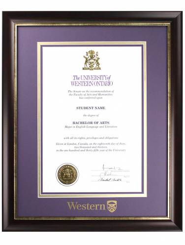 "image of Richmond Diploma Frame for 11""x17"" Diploma"