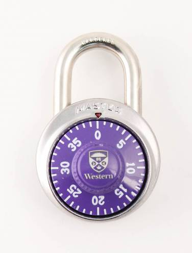image of Purple Western Combination Lock