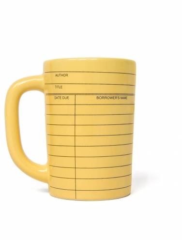 image of Library Card Mug