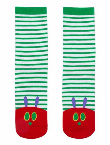 image of Very Hungry Caterpillar Socks Large