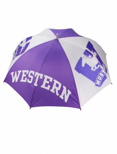 image of Western Mustangs Golf Umbrella