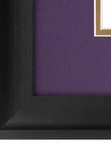 image of Black Covington Vertical Certificate Frame