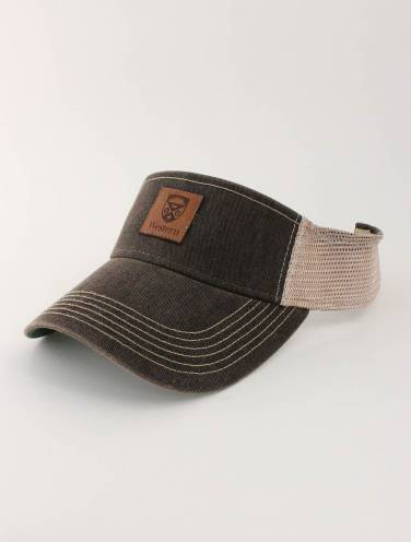 image of Black Western Visor