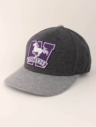image of Charcoal Heather Mustangs Hat