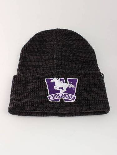 image of Black Heather Mustangs Toque