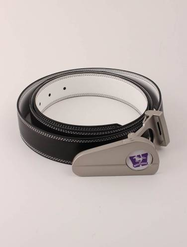 image of Black/White Mustangs Golf Belt