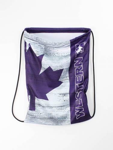image of Purple Barbarian Drawstring Bag