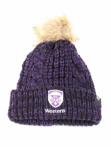image of Purple Western Ladies Toque