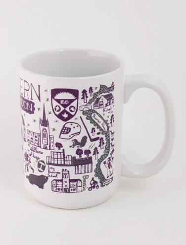 image of White Western Mug by Julia Gash