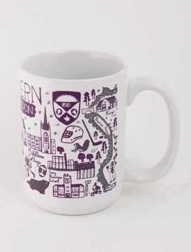 image of White Western Mug by Julia Gash