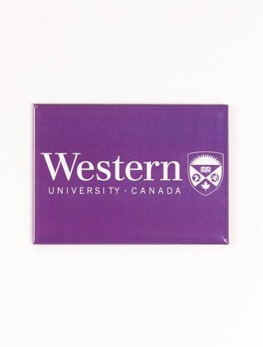 image of Western University Canada and Crest Magnet