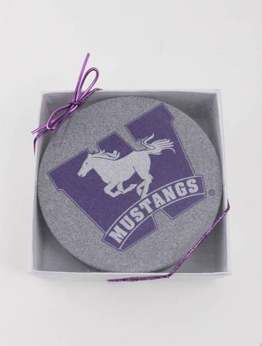 image of Mustangs Coaster Set