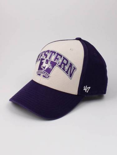 image of Purple Western Mustangs Hat