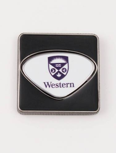 image of Western Crest Square Ball Marker Canadian Leaf