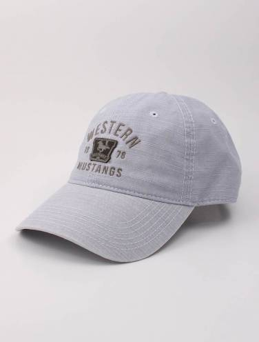 image of Grey Western Mustangs Hat