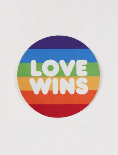 image of Love Wins Sticker