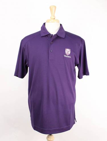 image of Purple Western Polo
