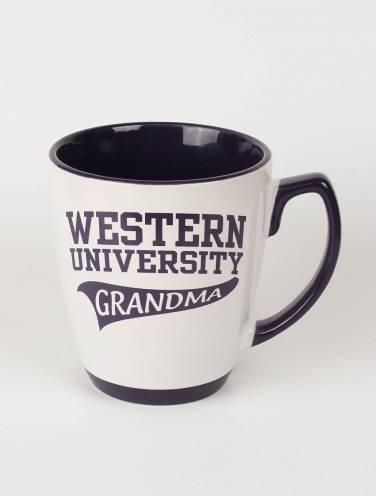 image of White Western University Grandma Mug