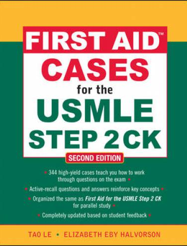 image of First Aid Cases For The Usmle Step 2ck