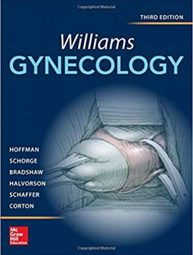 image of Williams Gynecology  *Op*