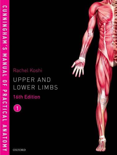 image of Cunninghams Manual Of Practical Anatomy Vol 1 Upper Limbs