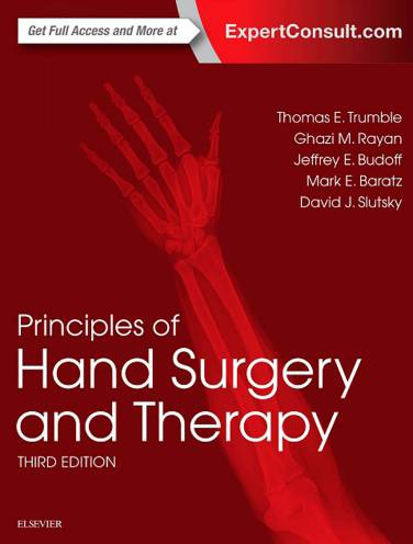 image of Principles Of Hand Surgery And Therapy