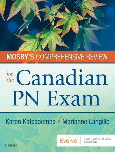 image of Mosbys Comprehensive Review For The Canadian Pn Exam