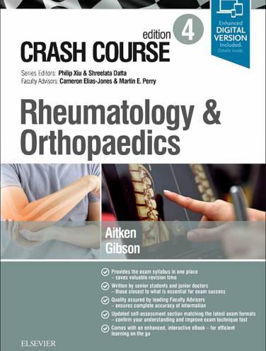 image of Crash Course Rheumatology And Orthopaedics