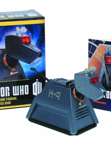 image of Doctor Who K 9 Light And Sound Figurine And Book