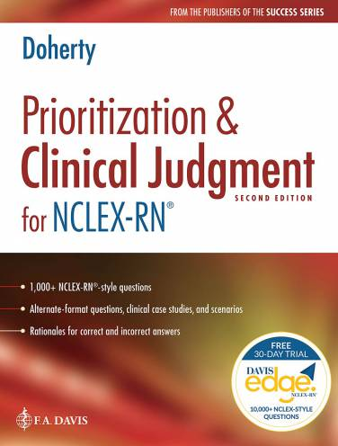 image of Prioritization And Clinicall Judgement For Nclex Rn *Damaged
