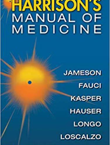 image of Harrisons Manual Of Medicine