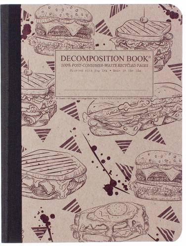image of Sandwich Arts Decomposition Ruled Book