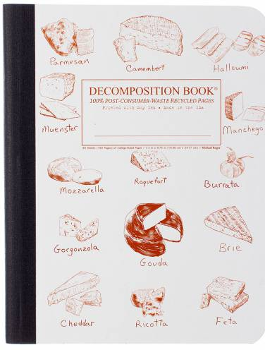 image of Fromage Collage Decomposition Ruled Book